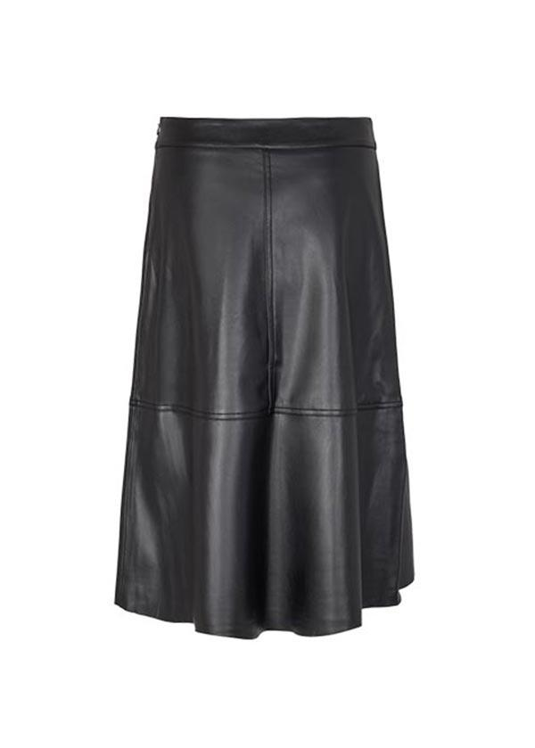 Freequent Rok Harley Midi Leather Look maat: XL - 42