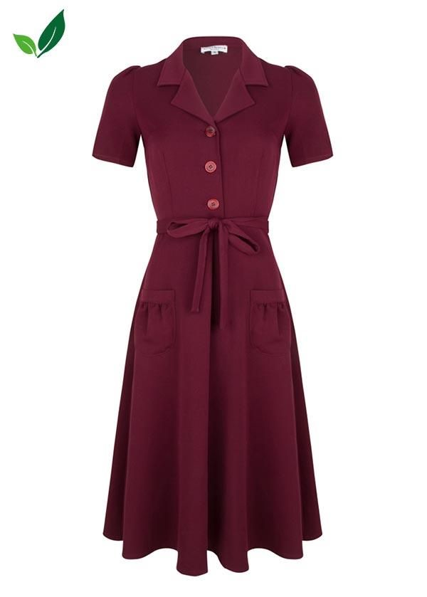 Very-Cherry_jumpsuit_garbardine_rood_front_01